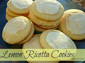 Juggling Act: Lemon Ricotta Cookies | Desserts | Pinterest