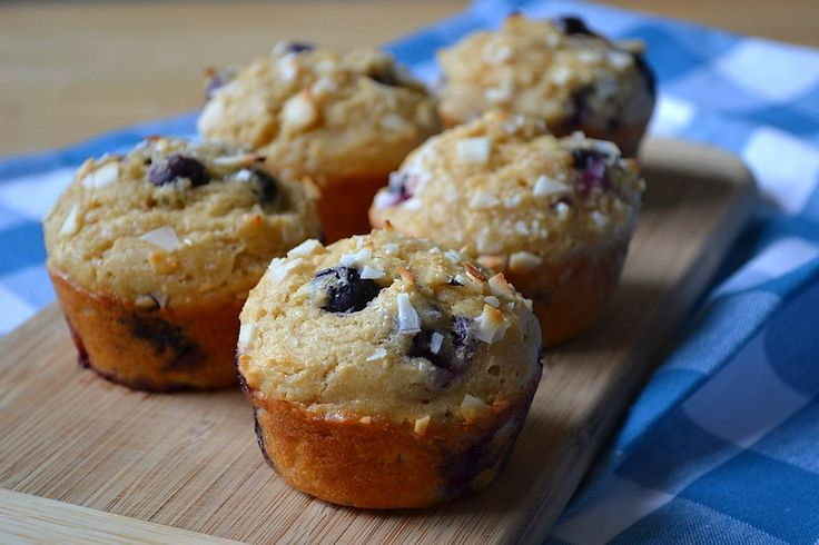 Coconut Blueberry Muffins | Breakfast | Pinterest
