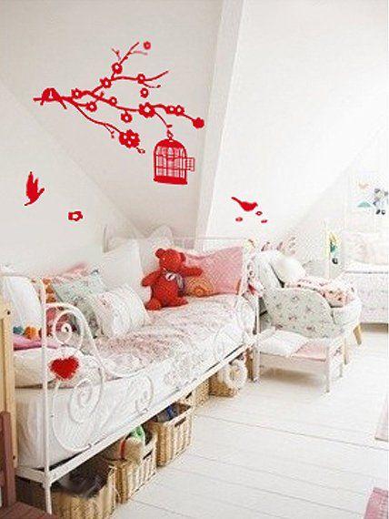 Cuisine Kitchenette Ikea : Une chambre de petite princesse avec les stickers  Marie Claire