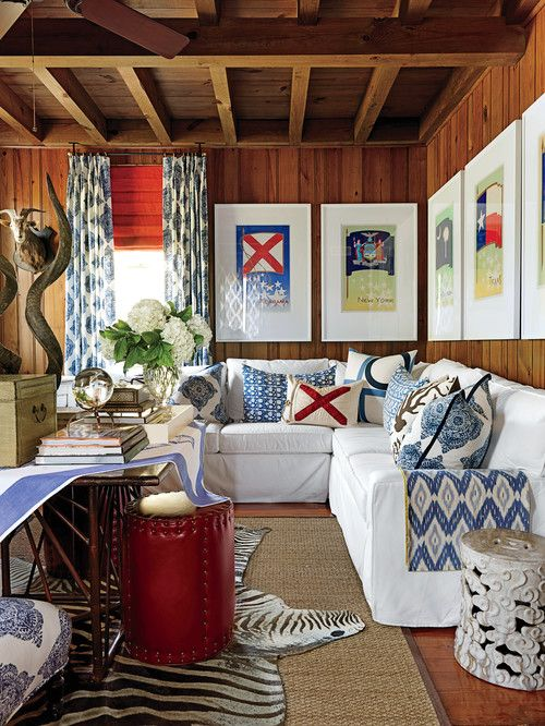 Designer Matthew Bees in Southern Living.
