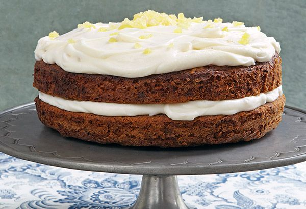 Carrot Cake with Ginger Mascarpone Frosting - Ina Garten
