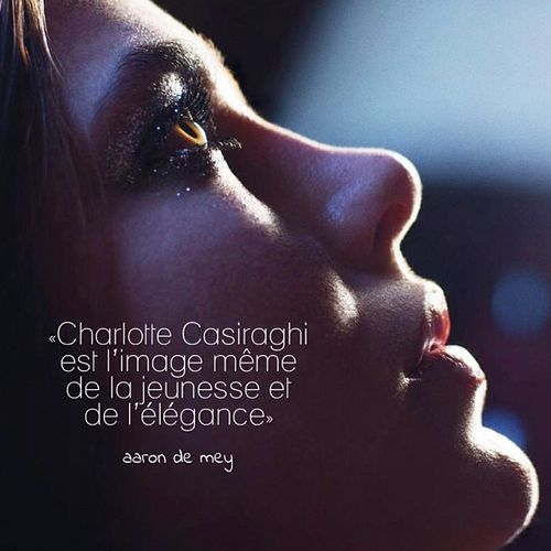 """Charlotte Casiraghi est l'image même de la jeunesse et de l'élégance"" ""Charlotte Casiraghi is the image of youth and elegance"" *"