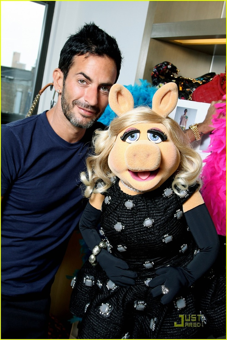 Miss Piggy and Marc Jacobs