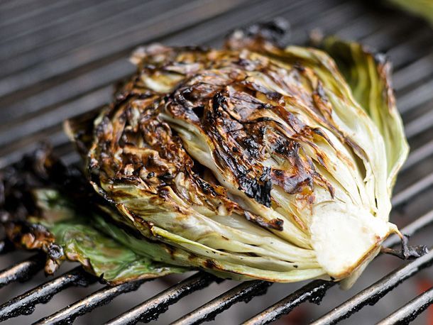 Grilling: Salad with Grilled Radicchio & knob onions. (Who'd have ...