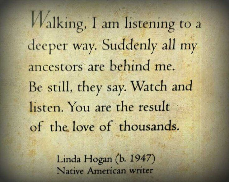 walking linda hogan essay Linda k hogan (born july 16, 1947) is a poet, storyteller, academic, playwright,  novelist,  as she began to write essays and fiction, she realized that the energy  she put into writing in a journal, had a new outlet as she journaled, she also.