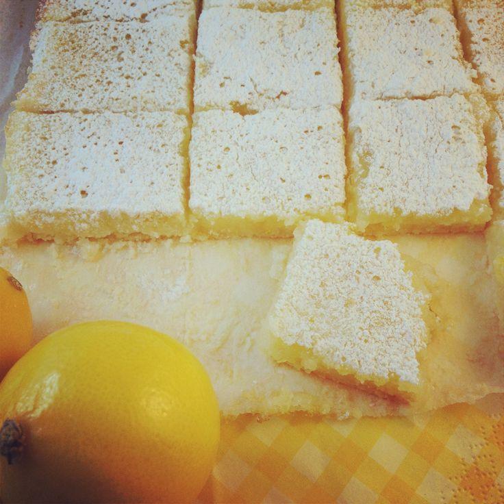 Gluten Free Meyer Lemon Squares | Treats | Pinterest