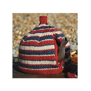 Knit a Stripy Sensation tea cosy: free knitting pattern