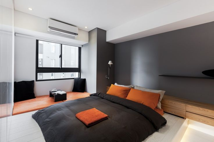 minimalist apartment bedroom interiors pinterest