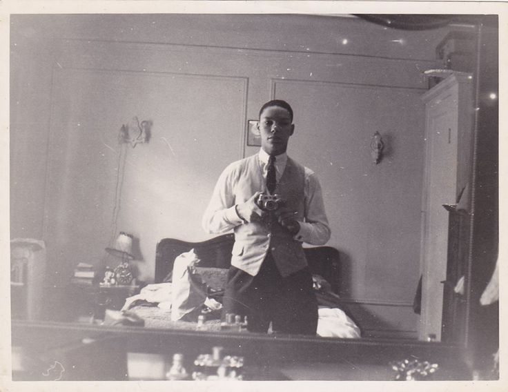 Self-portrait by Colin Powell