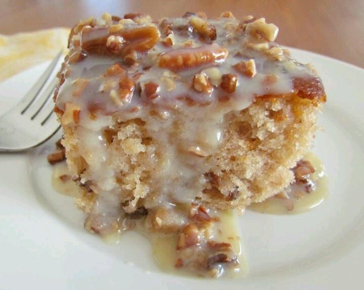 pecan praline cake | recipes | Pinterest