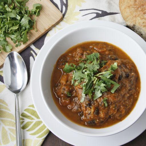 Pumpkin And Black Bean Soup Recipe — Dishmaps