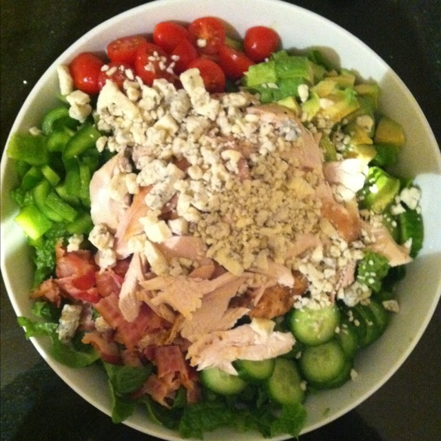 cobb salad chicken cobb salad cobb salad with grains easy cobb salad ...