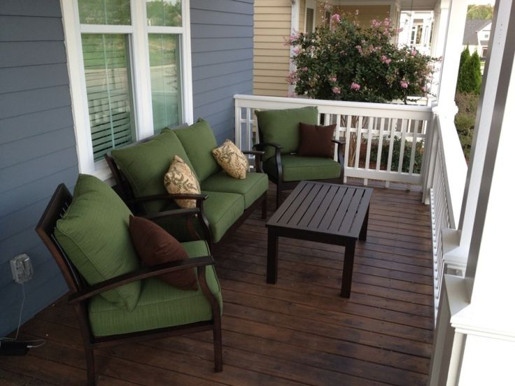 Pin by ann on home pinterest for Front porch furniture sets