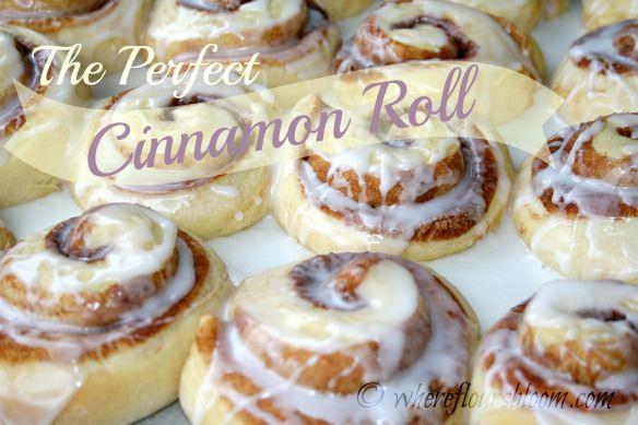 perfect cinnamon roll | Food | Pinterest