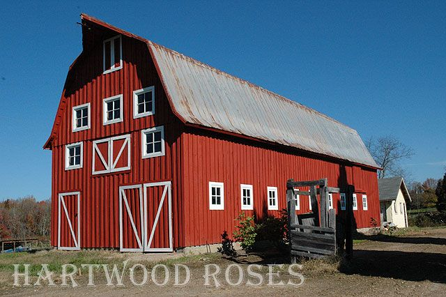 Red Metal Barn Guesthouse Pinterest