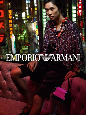 Armani.com Online Store and Fashion Experience - Spring-Summer collection