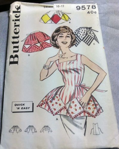 Easy and free apron patterns including plus size