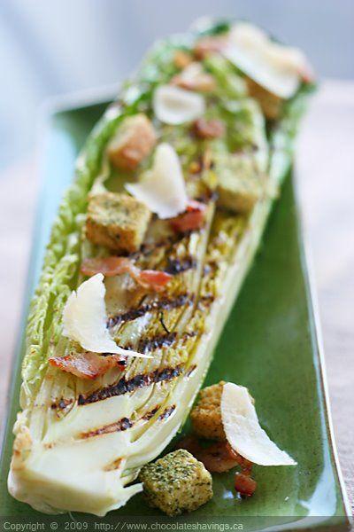Chocolate Shavings: Grilled Caesar Salad | I