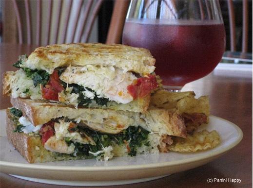Chicken, Goat Cheese and Arugula Panini | Dinners | Pinterest