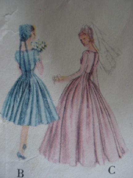 Bridesmaid dresses vogue patterns
