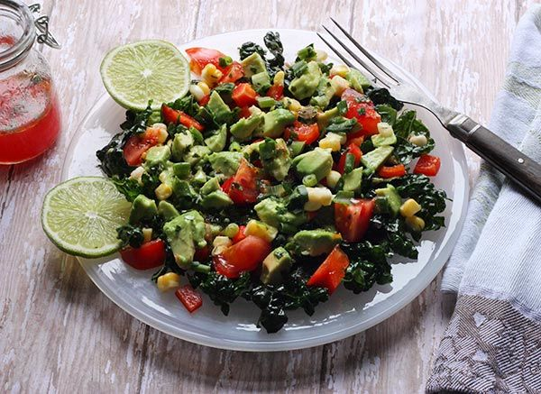 Skinny Guacamole Salad - winter salads have never tasted so fresh and ...