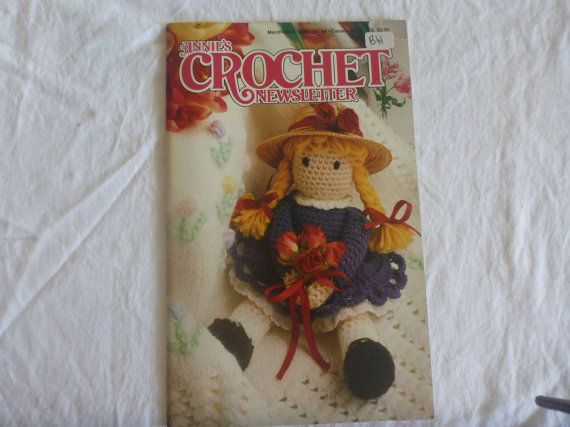 Annies Crochet Newsletter March/April 1994 by CarolsCreations77, $4.50