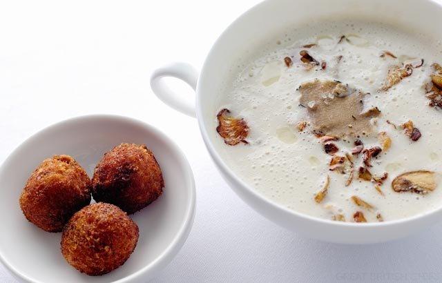 Jerusalem Artichoke Soup Recipe // Stephen Crane