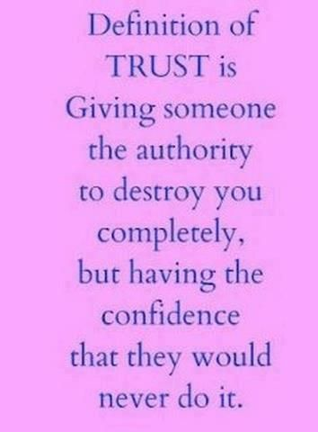 what is the true definition and meaning of trust Definition of trust, trusted, trusting, and trustingly from the king james bible dictionary.