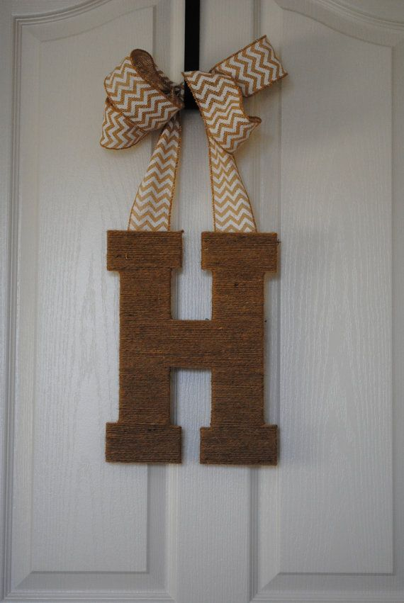 front door letter With front door letters
