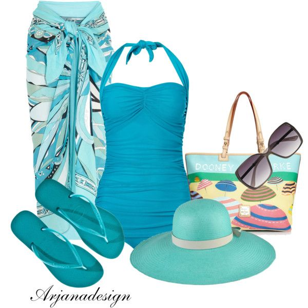 Ocean Bound, created by arjanadesign on Polyvore