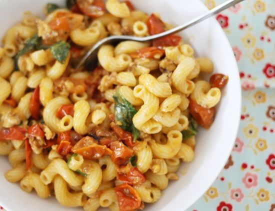 Buttery Tomato Pasta Recipe — Dishmaps