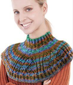Knit One Crochet Too : NobleKnits.com - Knit One Crochet Too Ty-Dy Wool Cowl Knitting ...