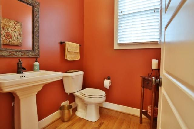 Warm color for the bathroom home decor pinterest