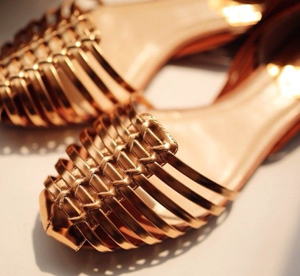 30033f51a09 Gold Sandals Vince Camuto ~ Gold Sandals