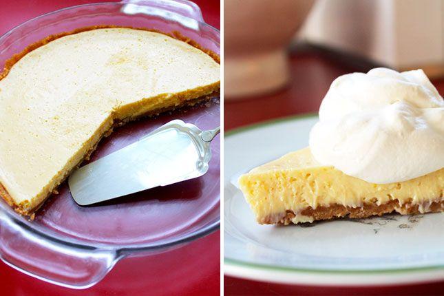 Meyer Lemon Cream Pie with Nilla Wafer Crust | Brit + Co.