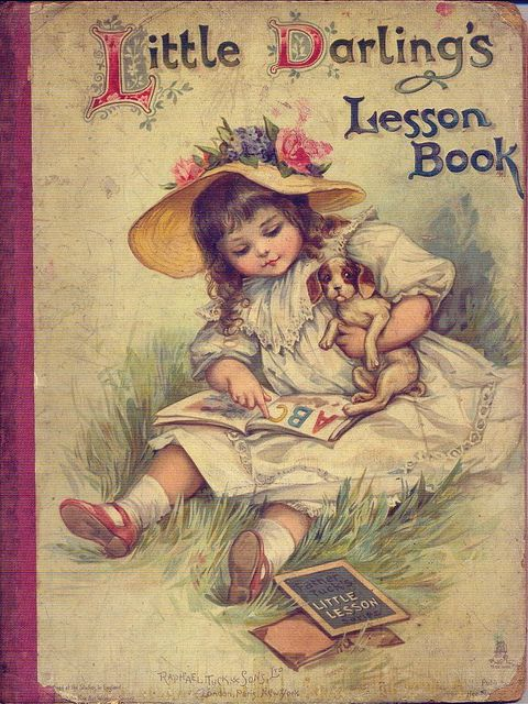 Little Darling's Lesson Book, 1890