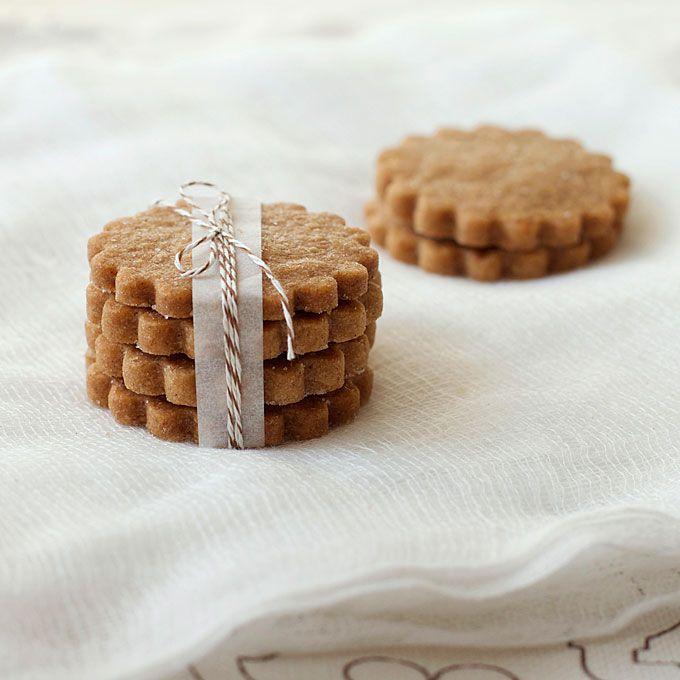 Brown Sugar Shortbread Cookie Favor