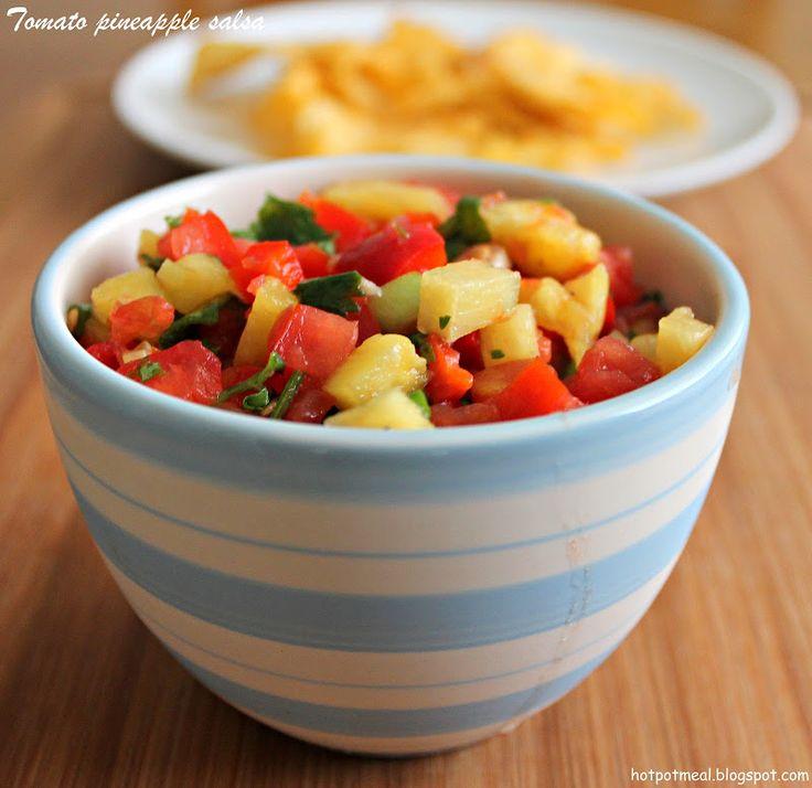 Tomato pineapple salsa   Salsa   Pinterest