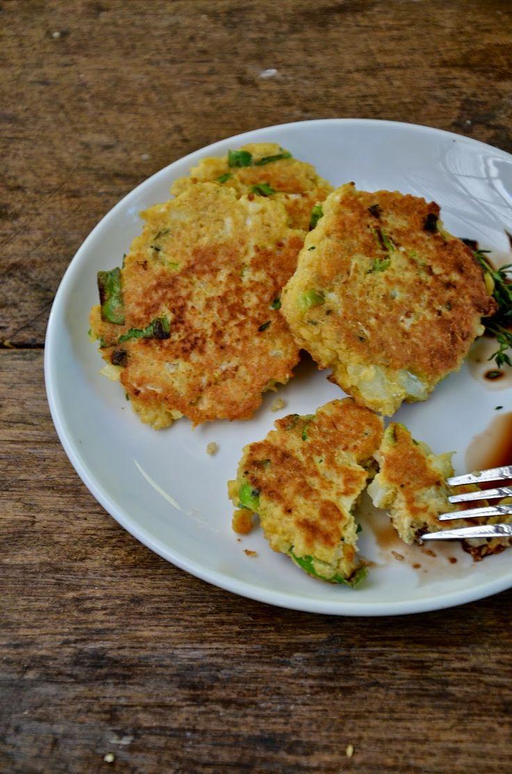 Quinoa & Cauliflower Breakfast Patties with Thyme and Garlic #paleo ...