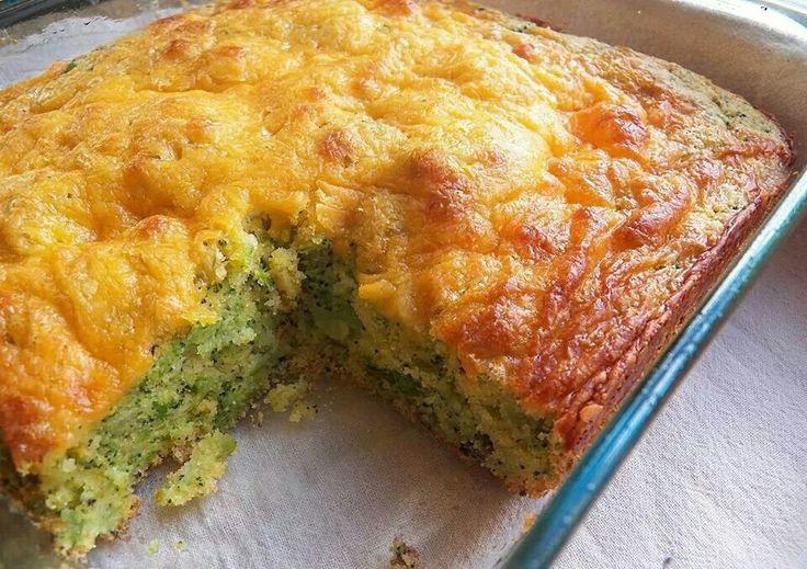 Broccoli & cheese cornbread | Breads, rolls, biscuits, & braids | Pin...