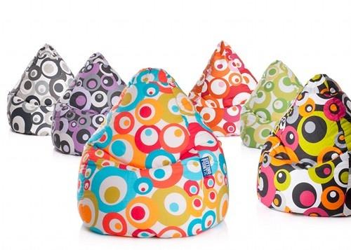 Sitzsack MALIBU    AND LIVIN´IS EASY  der Sitzsack ganz im Trend  in fünf Farben   Größe: XL 70 x 110 cm ca. 220 Liter   Material: Cretonne 100% Baumwolle  Füllung: 100 %Knauf Polystyrolkugeln