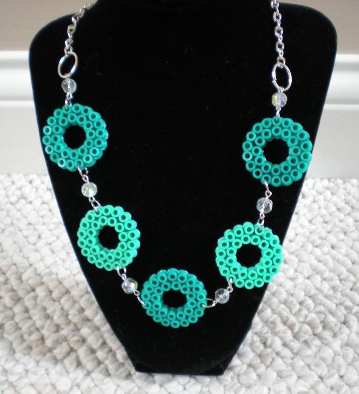 necklace hama perler by missktty89 perler