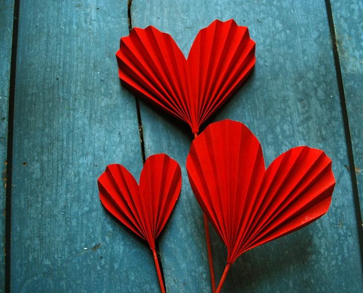 valentine paper bouquet