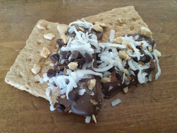 Almond Joy Graham Crackers