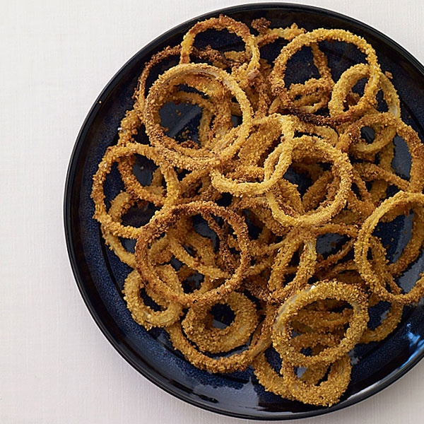 Crispy Onion Rings- 4 points plus | Weight Watchers | Pinterest