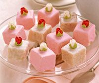 Petit fours-always wanted to try to make these. This recipe looks ...