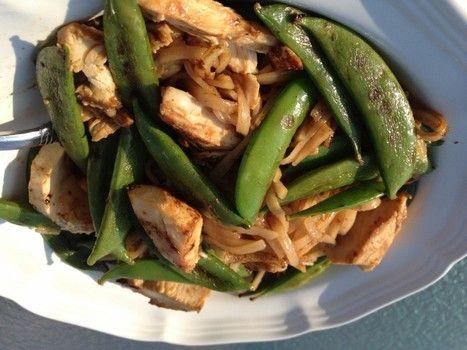 Thai Peanut Chicken and Noodles | ♥Food ♥ Gluten Free ...