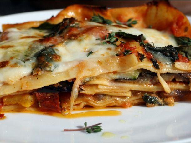 Roasted Ratatouille Lasagna Napoleons; can four words sound more ...