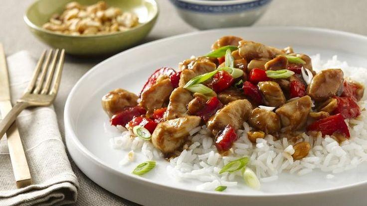 Spicy Peanut Chicken | Recipe