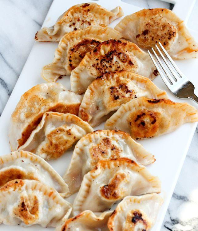 Pan Fried Dumplings | Asian | Pinterest